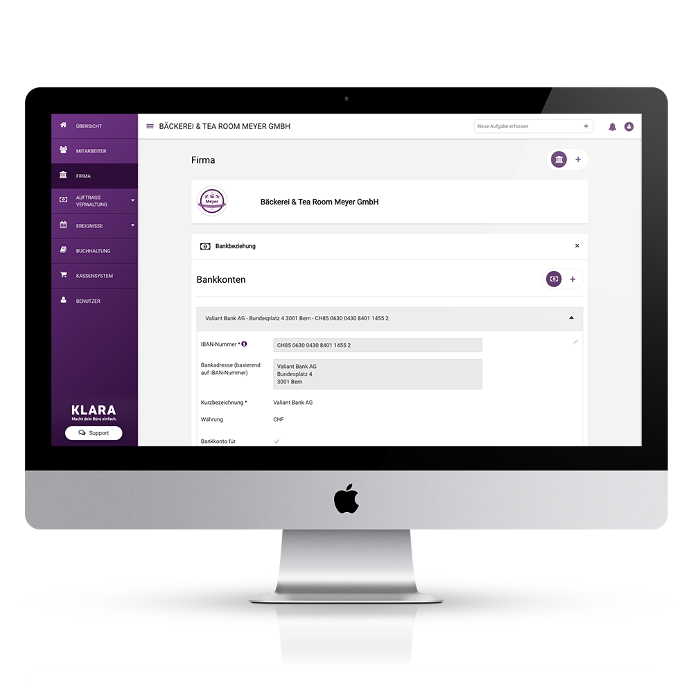 Online Buchhaltung - Zahlungen auf Knopfdruck