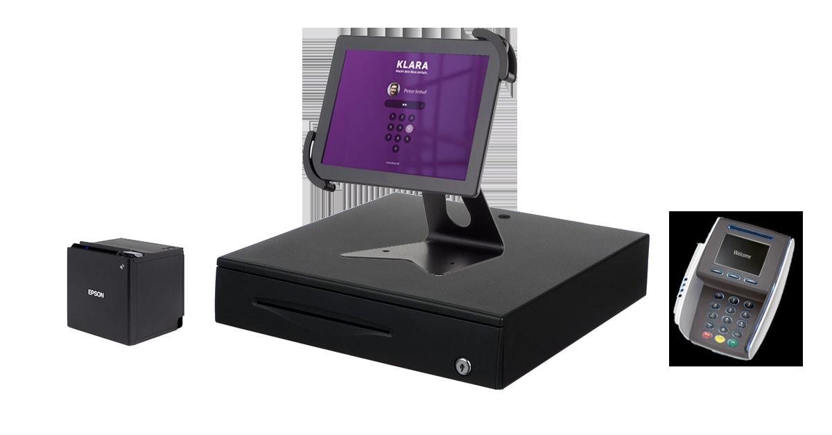POS Kassensystem mit Hardware - Payment Terminals