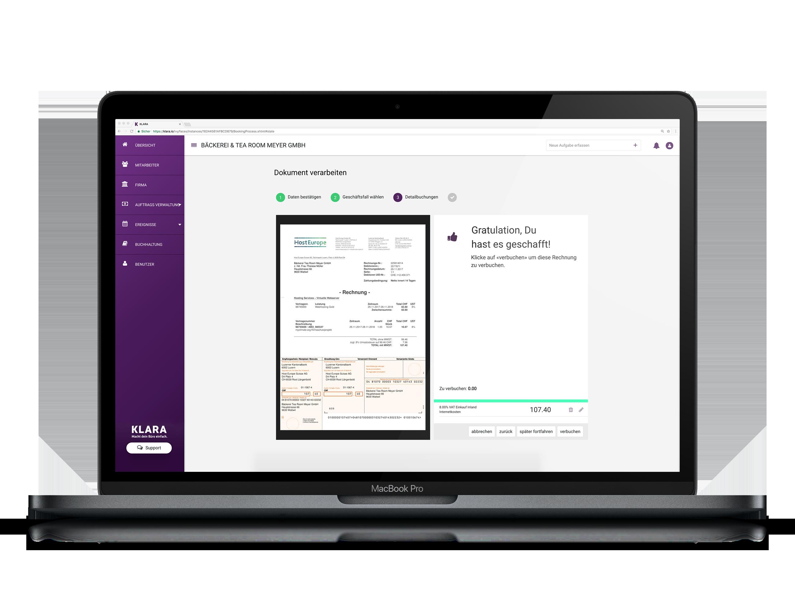 Online Buchhaltung für KMU und Startups
