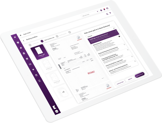 klara-website-ipad-buchhaltung