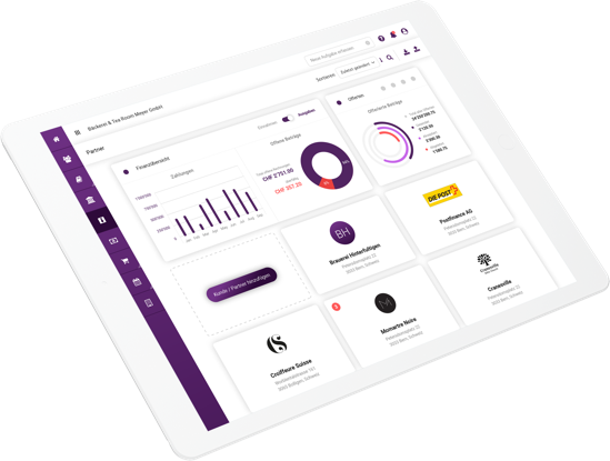 klara-website-ipad-crm-dashboard