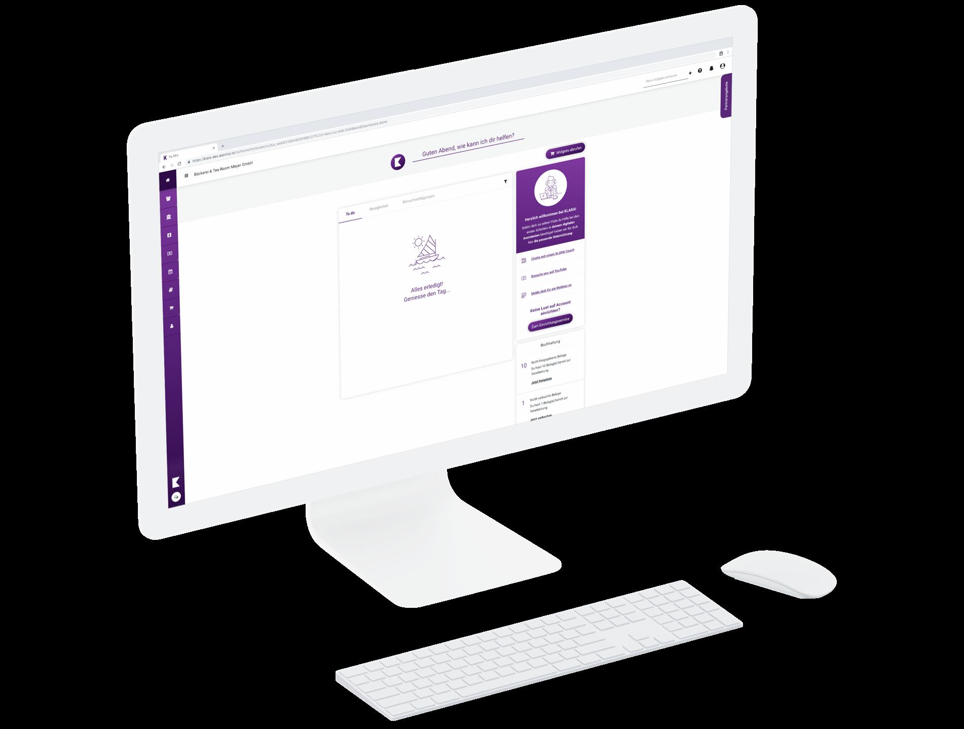 klara-website-widget-store