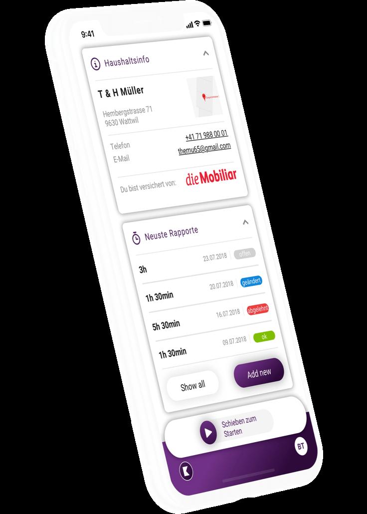 klara-website-device-iphone-myklara-app-uebersicht-home-de