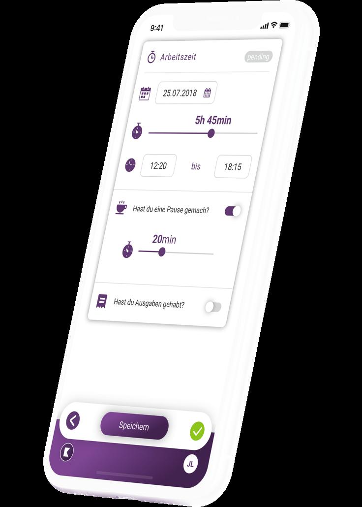 klara-website-device-iphone-myklara-app-zeiterfassung-de