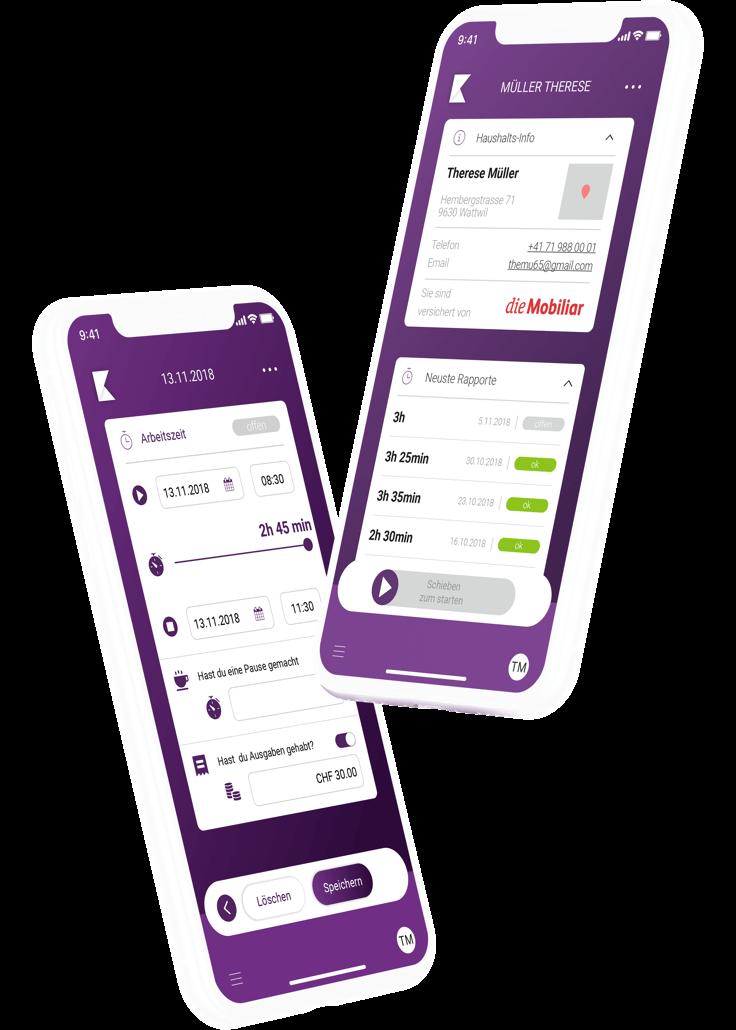 klara-website-device-iphones-myklara-app-home